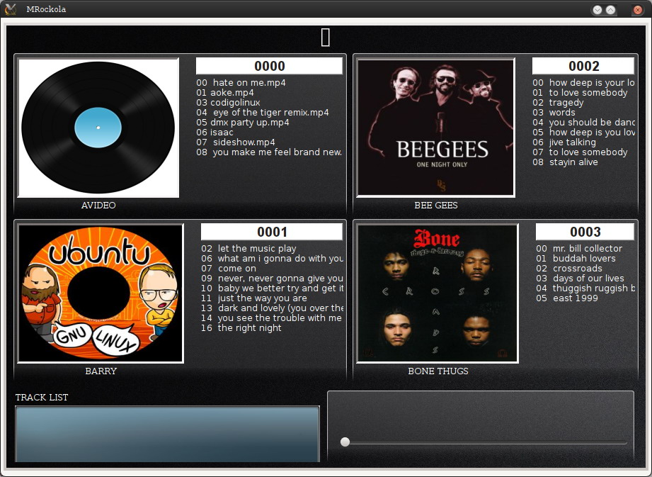MRockola - The Juke box for your PC